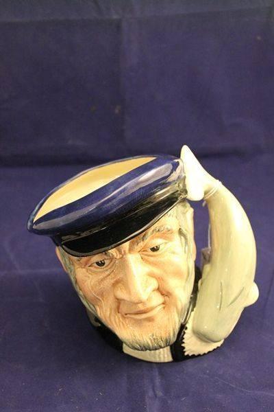 Royal Doulton Captain Abe C1958 Character Jug