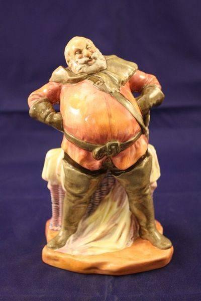 Royal Doulton falstaff figurine