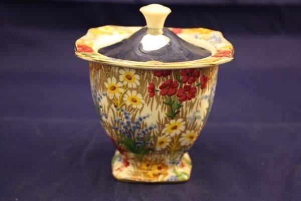 Royal Winton Marguerite Chintz Sugar Bowl