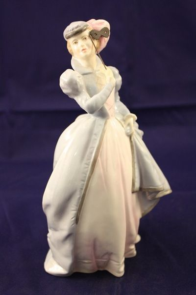 Royal Worcester Masquerade figurine