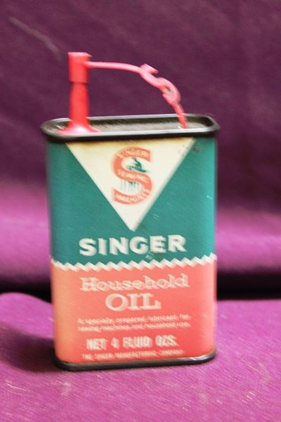Singer Household Oil Tin