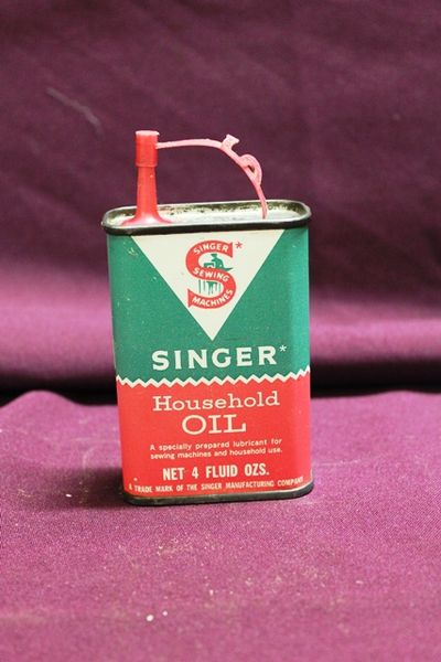 Singer Household Oil Tin
