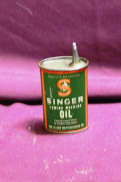 Singer Sewing Machine Oil Tin