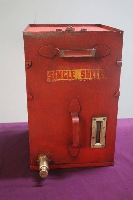 Single Shell Portable Oil Tank # | XXXX Antique Complex