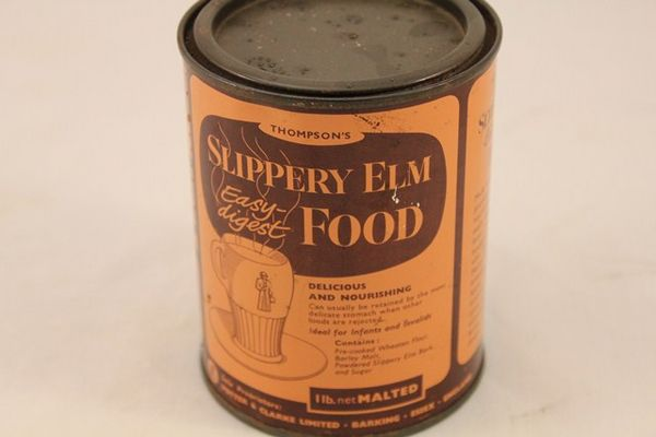 Slippery Elm Food Tin