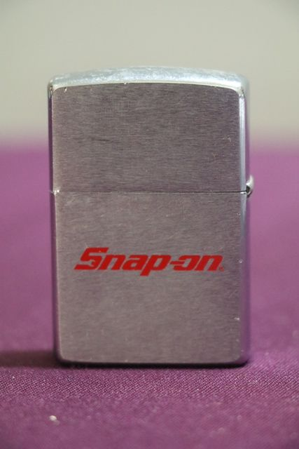 Snap On Advertising Bradford Zippo Lighter