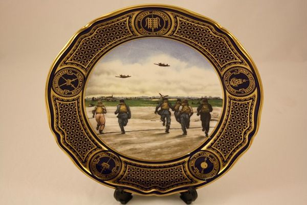 Spode Battle Of Britain Plate