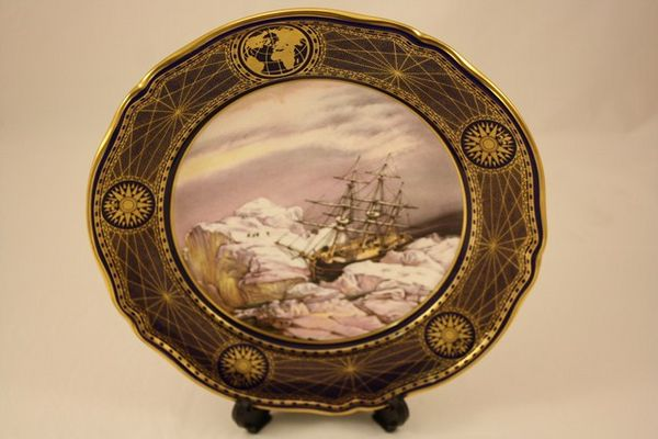Spode Great Explorers Plate