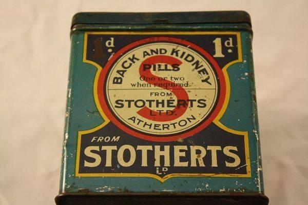 Stotherts Back + Kidney Pills Tin