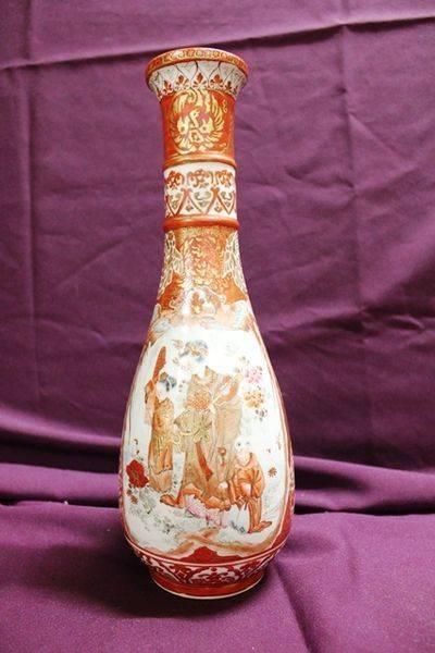 Stunning 19th Century Japanese Kutani Vase