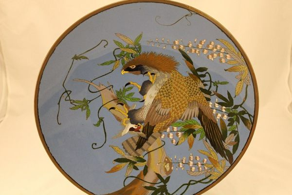 Stunning Chinese Cloisonne