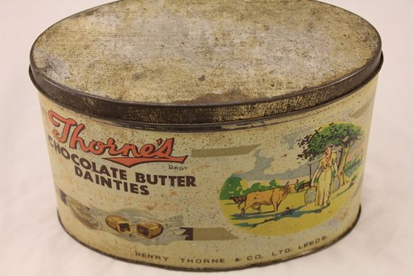 Thornes Chocolate Butter Dainties Tin