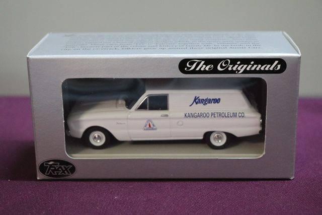 Trax The Originals TR27C Ford XK Falcon Van  Kangaroo Petroleum Model Car