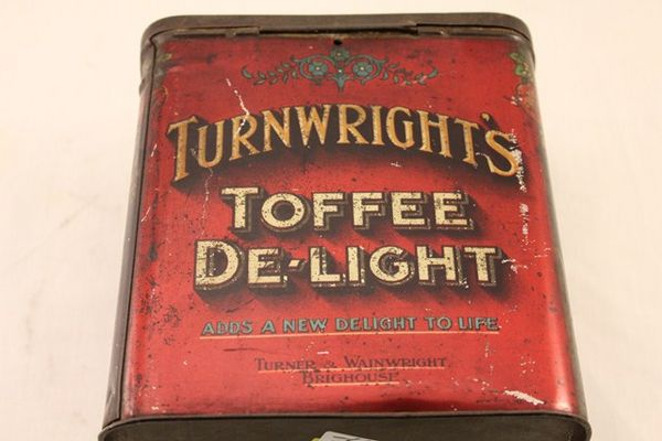 Turnwrights Toffee Delight Tin