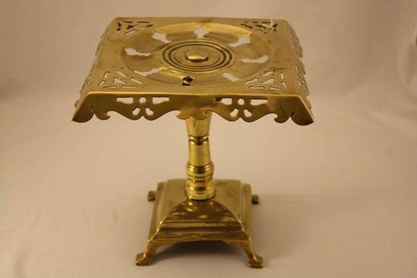 Victorian Brass Trivet