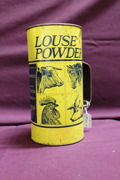 Vintage Louse Powder Can