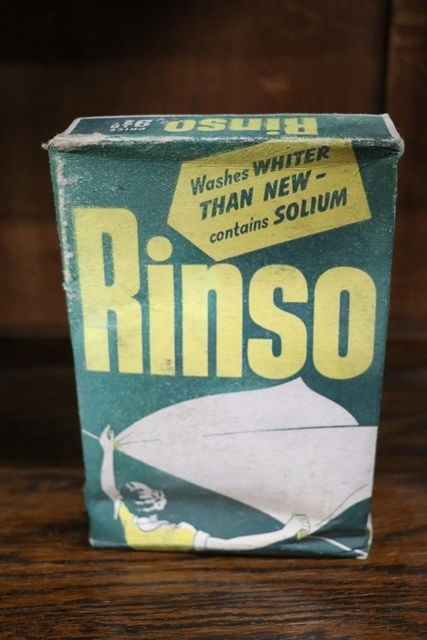 Vintage Rinso Washing Powder