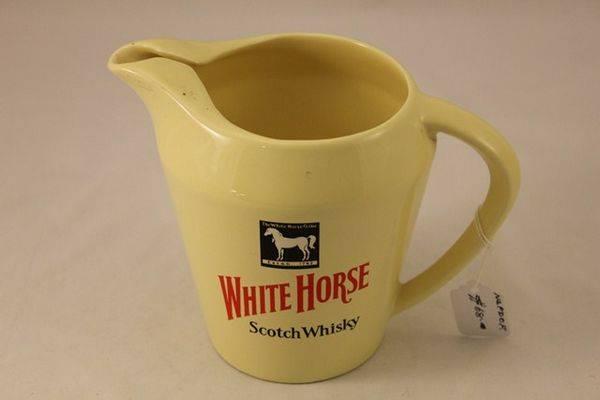 White Horse Scotch Whiskey pub jug# | XXXX Antique Complex