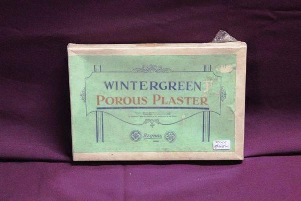 Wintergreen Porous Plaster
