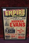 Empire Sunderland Norman Evans Ad Show Card 1959-1960
