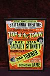 Brittannia Theatre Top Of The Town Musical Ad Show Card