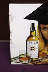 Teachers Scotch Whisky Pictorial Tin Calendar