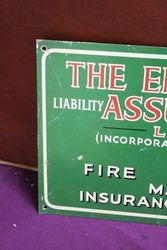 The Employers Assurance Tin Advertising Sign