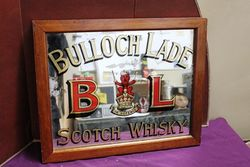 Bulloch Lade Scotch Whisky Advertising Pub Mirror.#