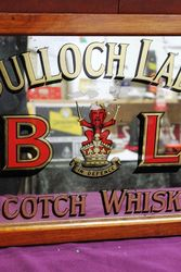 Bulloch Lade Scotch Whisky Advertising Pub Mirror