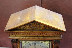 Lovely Oak Mantle Clock
