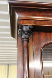 Early Vic Mahogany 2 Door Bookcase