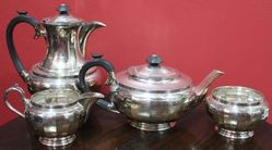 4Piece Walker and Hall Tea Set c19001920