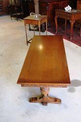 Quality C20th Oak Coffee Table
