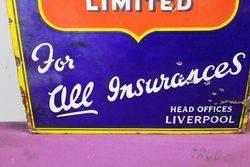 Early State Assurance Co Ltd Enamel Sign