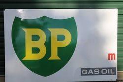 BP Gas Oil  Enamel Advertising Sign #