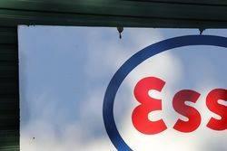 Large Esso Enamel Advertising Sign