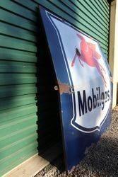 Large Mobilgas Enamel Advertising Sign