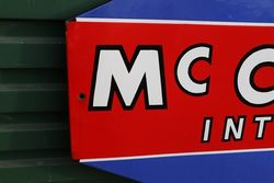 Mc Cormick International Enamel Advertising Sign
