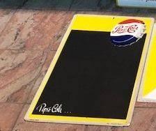 ARRIVING NOVEMBER  Pepsi Cola Advertising Sign