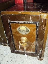 ARRIVING NOVEMBER Chubb and Son Metal Safe