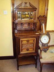 Antique Music Parlor Cabinet. #