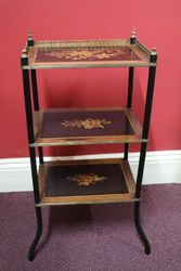 Late C19th Antique French 3 Tier Etagere #