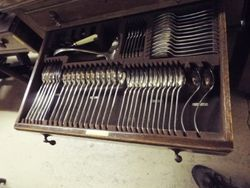 ARRIVING NOVEMBER Cabinet Of Cutlery