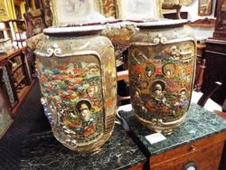 ARRIVING NOVEMBER Pair of Satsuma Vases