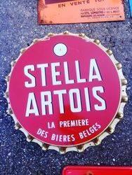 ARRIVING NOVEMBER Stella Artois Advertising Sign