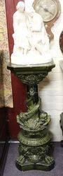 C19th Large Majolica Pedestal C1860