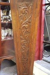 Carved Oak Pedestal English C1900