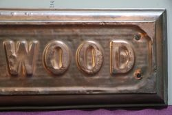 Genuine House Name Plate andquotSELWOODandquot