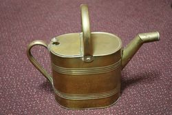 19th Century Brass 4 Pint Watering Can #
