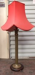 Large Brass Table Lamp #